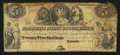Canadian Currency: , Toronto, UC- Farmer's Joint Stock Banking Company $5 Feb. 1, 1849Ch. # 280-14-04-08. ...