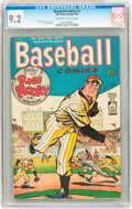 Golden Age (1938-1955):Miscellaneous, Baseball Comics #1 (Will Eisner, 1949) CGC NM- 9.2 Off-white to white pages....