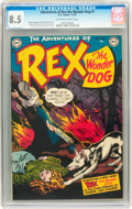 Golden Age (1938-1955):Miscellaneous, Adventures of Rex the Wonder Dog #1 (DC, 1952) CGC VF+ 8.5 Off-white to white pages....
