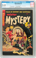 Golden Age (1938-1955):Horror, Mister Mystery #6 (Aragon, 1952) CGC VG/FN 5.0 Off-white to whitepages....