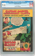 Golden Age (1938-1955):Miscellaneous, Captain Marvel and the Lieutenants of Safety #3 File Copy (Fawcett, 1951) CGC NM+ 9.6 Off-white to white pages....