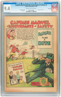 Golden Age (1938-1955):Miscellaneous, Captain Marvel and the Lieutenants of Safety #1 File Copy (Fawcett, 1950) CGC NM 9.4 Cream to off-white pages....