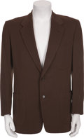 Music Memorabilia:Costumes, Buddy Holly's Light Brown Sport Jacket....