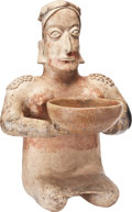 Antiques:Antiquities, Kneeling Woman Offering a Bowl...