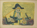 Prints:Contemporary, ROGER BEZOMBES (French/American, 1913-1994). Harlequin.Color lithograph, ed. 21/100. 20in. x 26in.. Signed in pencil at...(Total: 1 Item)