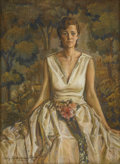 Fine Art - Painting, American:Other , TWENTIETH CENTURY SCHOOL. Portrait of a Lady, 1931. Pastel on paper. 28-1/2in. x 21in.. Signed at lower left Carley To... (Total: 1 Item)