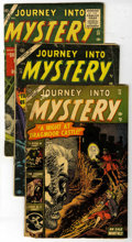 Golden Age (1938-1955):Horror, Journey Into Mystery Group (Marvel, 1953-57) Condition: AverageGD+.... (Total: 6 Comic Books)