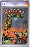 Golden Age (1938-1955):Miscellaneous, Funny Pages #38 (Centaur, 1940) CGC Apparent GD+ 2.5 Slight (A) Off-white pages....