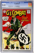 Silver Age (1956-1969):War, G.I. Combat #54 (DC, 1957) CGC VF 8.0 Off-white to white pages....