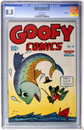 Golden Age (1938-1955):Funny Animal, Goofy Comics #10 Vancouver pedigree (Nedor Publications, 1945) CGCVF+ 8.5 White pages....