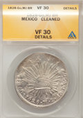 Mexico: , Mexico: Republic 8 Reales 1828Go-MJ,...
