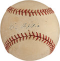 Autographs:Baseballs, The Only Known Vic Willis Single Signed Baseball....
