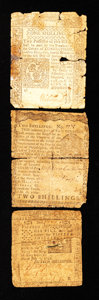 Colonial Notes:Mixed Colonies, Mixed Lot of Three Well Circulated Colonials.. ... (Total: 3 notes)