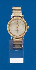Timepieces:Wristwatch, Hamilton, 14k, Electric Wristwatch. ...