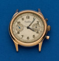 Timepieces:Wristwatch, Breitling Waterproof Premier 18k Chronograph for Restoration. ...