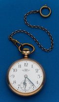Timepieces:Pocket (post 1900), Ball 16 Size 19 Jewel Official Standard B 640148. ...
