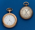 Timepieces:Pocket (post 1900), Two - Elgin, 12 Size Pocket Watches. ... (Total: 2 Items)