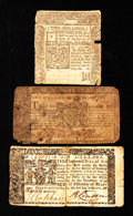 Colonial Notes:Mixed Colonies, Connecticut and Maryland Notes.. ... (Total: 3 notes)