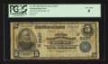 National Bank Notes:Colorado, Brush, CO - $5 1902 Plain Back Fr. 598 The First NB Ch. # (W)6437....