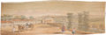 Books:Fiction, [Fore-edge Painting]. The Poems of John Dryden. VolumeIII. Chiswick: C. Whittingham, [n.d.] Later edition. Wi...