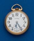 Timepieces:Pocket (post 1900), Illinois, 21 Jewel, 161A Bunn Special, 60 Hour. ...