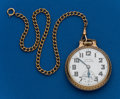 Timepieces:Pocket (post 1900), Hamilton, 992B, 21 Jewel With Chain. ...