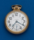 Timepieces:Pocket (post 1900), Waltham, 16 Size, 23 Jewel Vanguard. ...