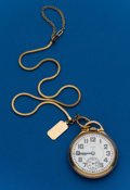 Timepieces:Pocket (post 1900), Elgin, 16 Size, 23 Jewel B.W. Raymond. ...