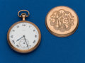 Timepieces:Pocket (post 1900), Elgin, Gold Filled, 16 Size, 17 Jewel. ...