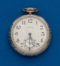 Timepieces:Pocket (post 1900), Waltham Gold Filled, 16 Size, 17 Jewel. ...