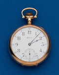 Timepieces:Pocket (post 1900), Howard, 17 Jewel, 16 Size. ...