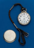 Timepieces:Pocket (post 1900), Ball, 16 Size, 21 Jewel, Official Standard #B639717. ...