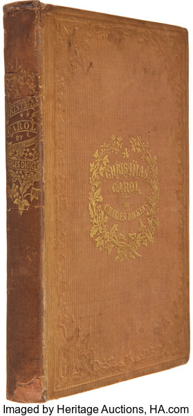 being booksfirst editions charles dickens a christmas carol in prose - A Christmas Carol First Edition