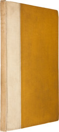 "Books:First Editions, [Oscar Wilde]. The Ballad of Reading Gaol by ""C.3.3.""London: Leonard Smithers, 1898.. First edition, limited ..."