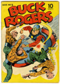 Golden Age (1938-1955):Science Fiction, Buck Rogers #5 (Eastern Color, 1943) Condition: Apparent VG....