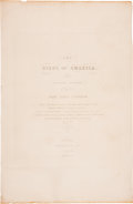 Antiques:Posters & Prints, John James Audubon. Original title pages from Volume II of theHavell double-elephant folio Birds and Volume II of...(Total: 2 Items)