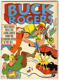 Buck Rogers #3 (Eastern Color, 1941) Condition: Apparent VG/FN