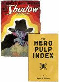 Pulps:Hero, Shadow V5#1 with The Hero Pulp Index (Street & Smith, 1933) Condition: VG....
