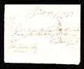Colonial Notes:Connecticut, State of Connecticut Pay Table Office £3 January 25, 1781 VeryFine-Extremely Fine.. ...