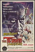 "Movie Posters:Horror, The Terror (American International, 1963). One Sheet (27"" X 40.5"") Style A. Horror.. ..."