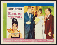 "Breakfast At Tiffany's (Paramount, 1961). Lobby Card (11"" X 14""). Romance"