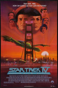 "Movie Posters:Science Fiction, Star Trek IV: The Voyage Home (Paramount, 1987). One Sheets (2)(27"" X 41"") Advance & Regular. Science Fiction.. ... (Total: 2Items)"