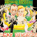 Mainstream Illustration, GLENN CRAVATH (American, 1897-1964). The Gay Divorcee, starringFred Astaire and Ginger Rogers, movie promotion illustrati...