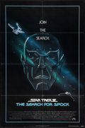"Movie Posters:Science Fiction, Star Trek III: The Search for Spock (Paramount, 1984). One Sheet(27"" X 41"") and Lobby Card (11"" X 14""). Science Fiction.. ...(Total: 2 Items)"