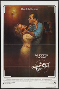 """The Postman Always Rings Twice (Paramount, 1981). One Sheet (27"""" X 41"""") and Lobby Card (11"""" X 14"""")..."""