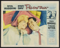 "Movie Posters:Comedy, Pillow Talk (Universal International, 1959). Lobby Card (11"" X 14""). Comedy.. ..."