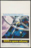 """Movie Posters:Science Fiction, 2001: A Space Odyssey (MGM, 1968). Window Card (14"""" X 22"""") Style A.Science Fiction.. ..."""