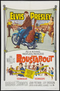 "Movie Posters:Elvis Presley, Roustabout (Paramount, 1964). One Sheet (27"" X 41""). Elvis Presley.. ..."
