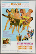 "Movie Posters:Elvis Presley, Live a Little, Love a Little (MGM, 1968). One Sheet (27"" X 41"").Elvis Presley.. ..."