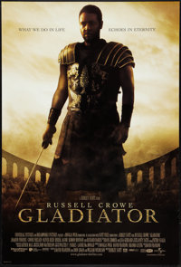 "Gladiator (Universal, 2000). One Sheet (27"" X 40"") DS. Action"